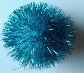 Jumbo Sparkle Ball Cat Toy