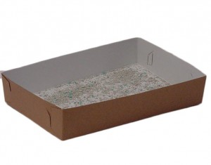 Disposable litter tray