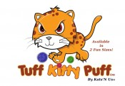 Tuff Kitty Puff Sparkle Ball Cat Toy