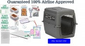 Sky Kennel 500 All In one Airline Pet Travel Package