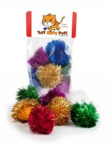 sparkle ball cat toys