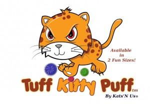 Sparkle Ball Kitty Puff