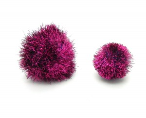 Tinsel Pom Pom Cat Toy