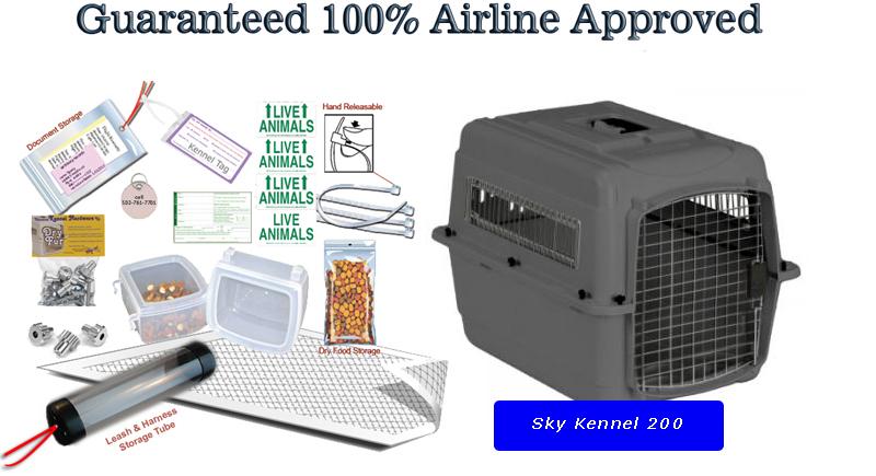 Sky kennel 200 package