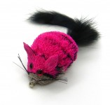 cat teaser wand refill - pink mouse