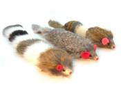 Dat Darn Rabbit Fur Cat Toys