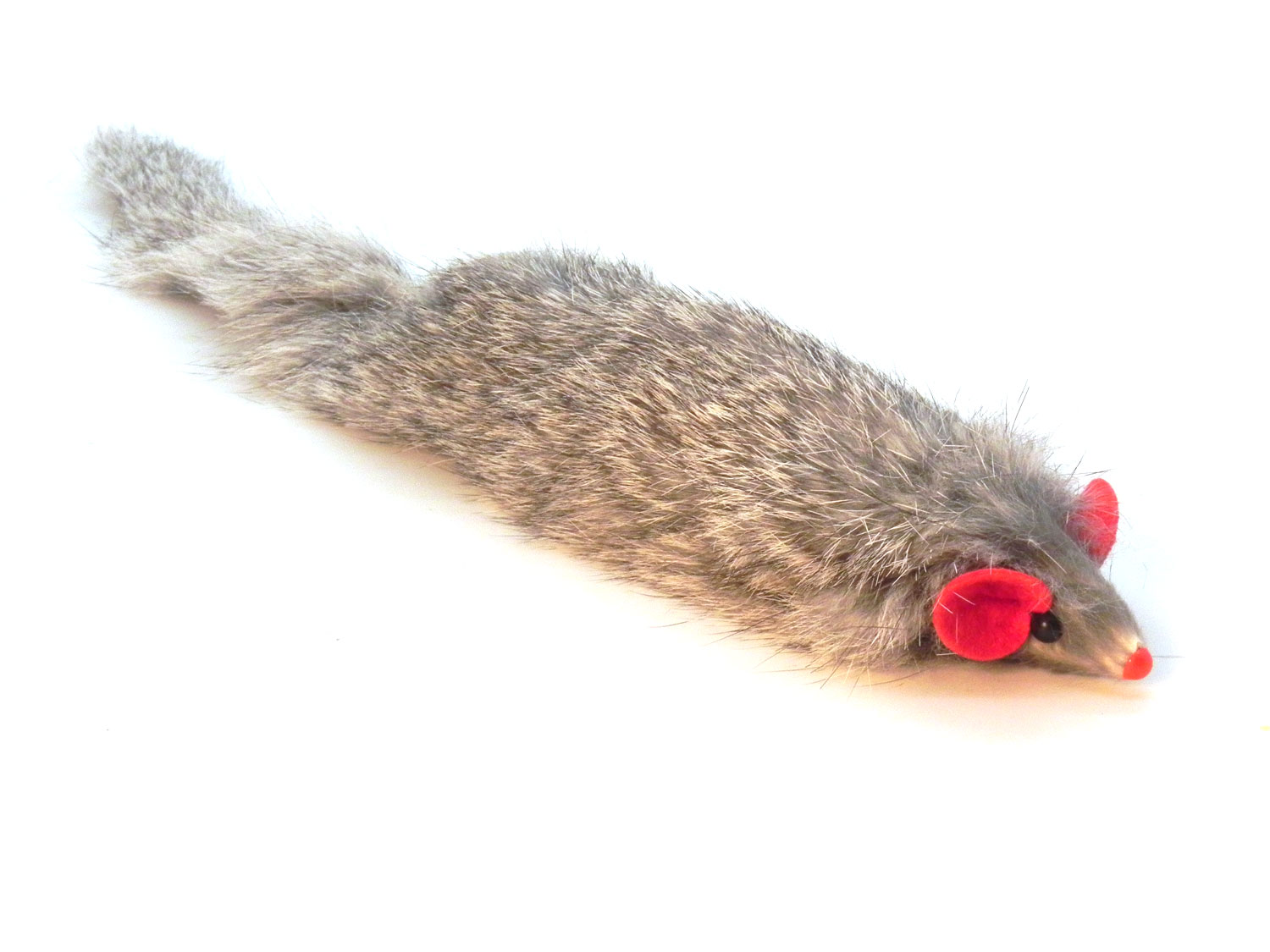 da darn ferrt rabbit fur cat toy